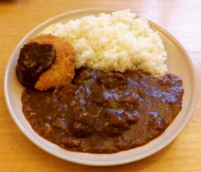 カレーライス&メンチカツ(洋食や)