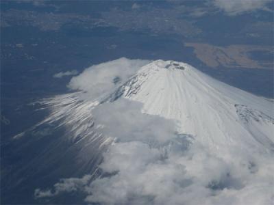 富士山を覗く