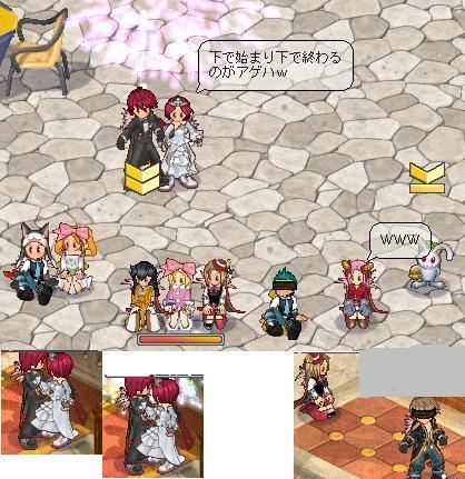 島民・よっさん結婚式