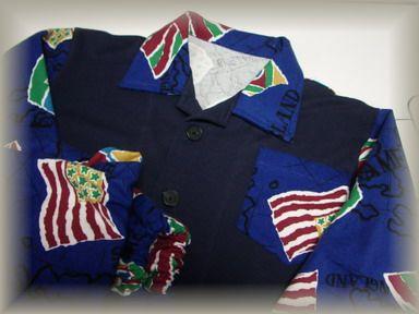 国旗柄パジャマ