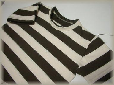 ボーダーTシャツ、息子用