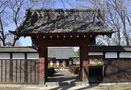 関宿城門在逆井城