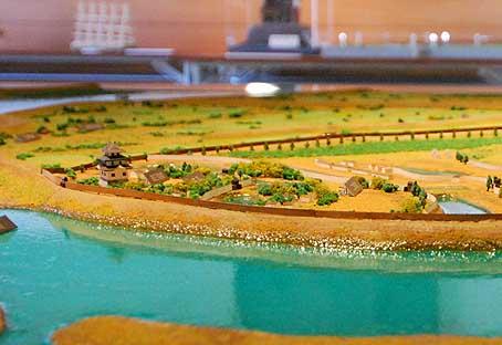 関宿城模型