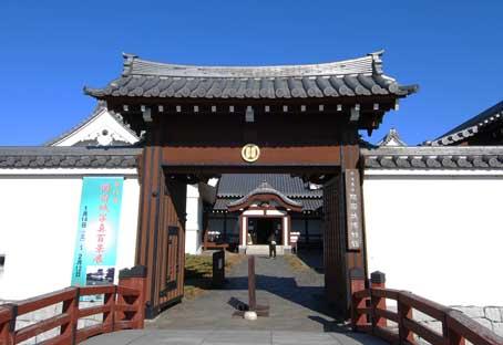 関宿城博物館門