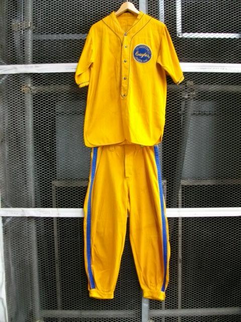 ベースボール黄 001