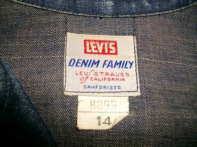 1950S  LEVIS  デニムジャケット 002