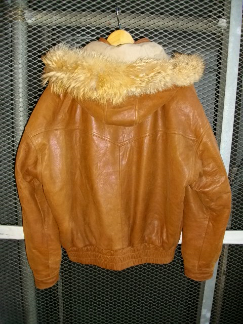 golden bear lamb leather 005