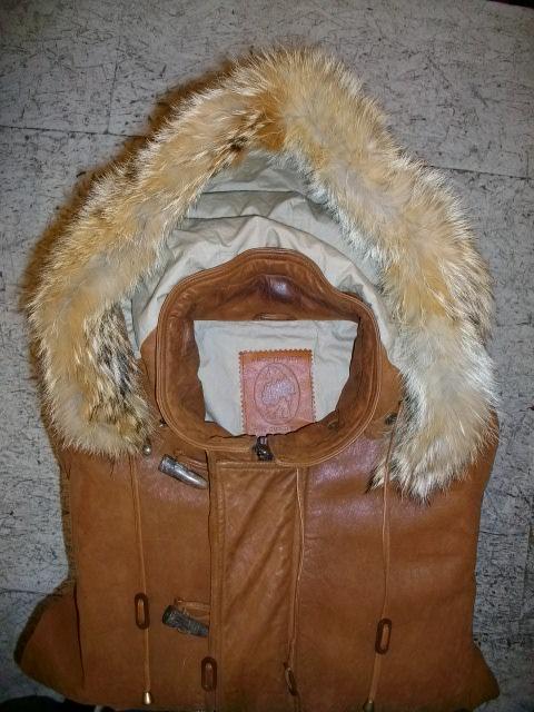 golden bear lamb leather 009