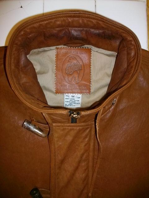 golden bear lamb leather 017