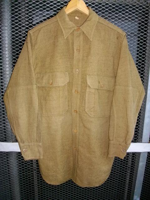 cpo 刺繍 army wool 007