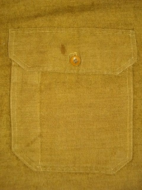 cpo 刺繍 army wool 024