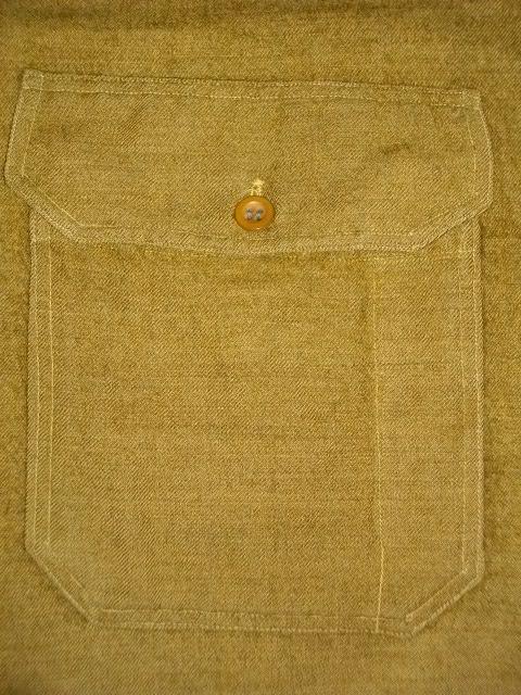 cpo 刺繍 army wool 025