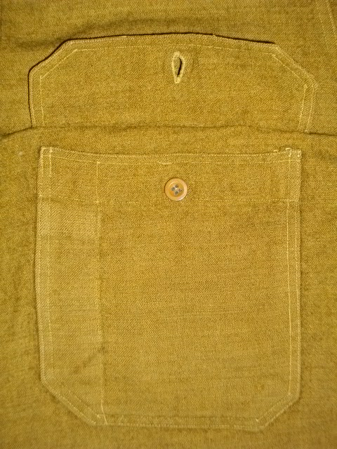 cpo 刺繍 army wool 026