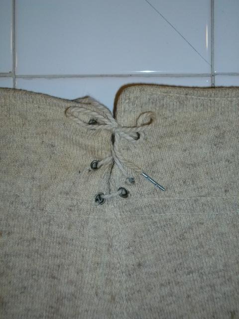 wool under pants  a.a.c b-1 022