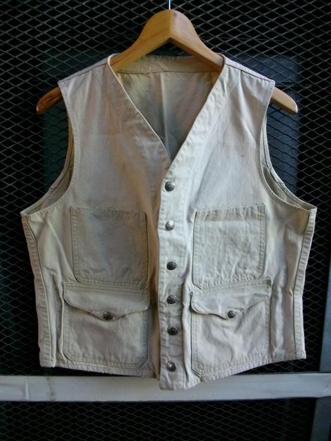 filson vest lettered 001