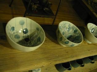 岡山富男・茶碗