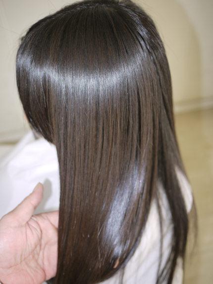 ツヤツヤの美髪