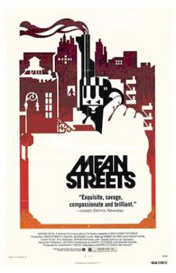 MEAN STREETS ( ver - poster )