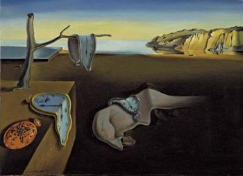 The Persistence of Memory ( Salvador Dali )