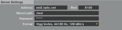 TRAKTOR Proの配信ツール設定例