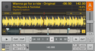 DJ練習番外その1:曲の前半(テンポが下がる前)