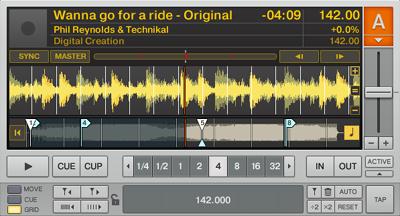 DJ練習番外その1:ブレイク(テンポが下がっている最中)