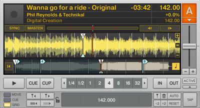 DJ練習番外その1:2個目のグリッドキュー編集法