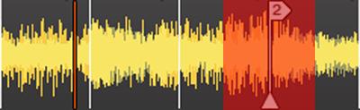 DJ練習番外その2:自動補正受付範囲(BPM半減後)