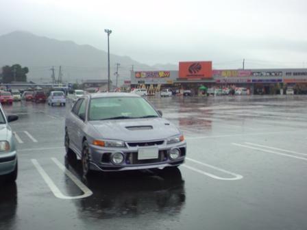 スパセン駐車場