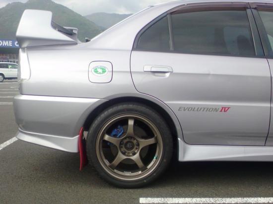 CN9A テイン車高調 リア