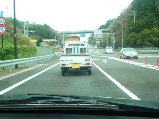 12月16日 軽トラ