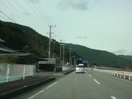 1月5日 10:58 熊野川沿い③