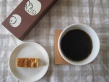 クルミッ子とコーヒー