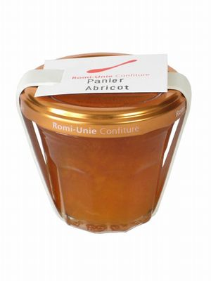 Romi-Unie Confiture--Panier Apricot。