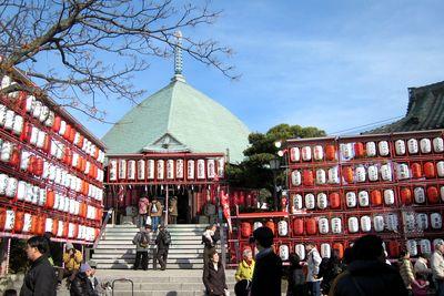 本覚寺--鎌倉えびす。