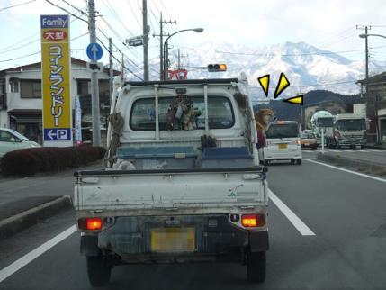田舎の軽トラック??