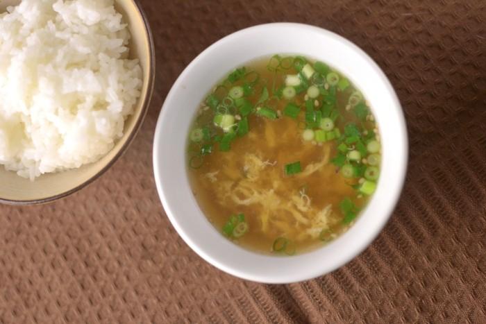 かき玉中華スープ