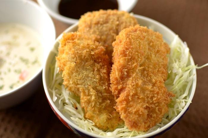 ソースカツ丼(ヒレ