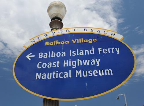 Balboa Signboard