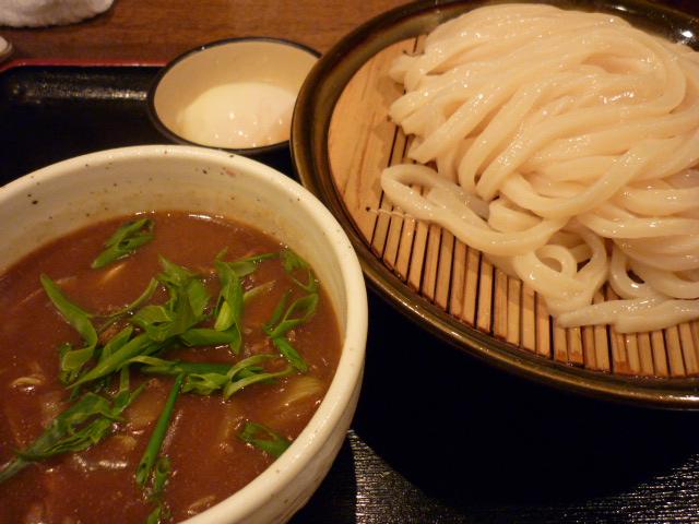 温玉カレーつけ麺