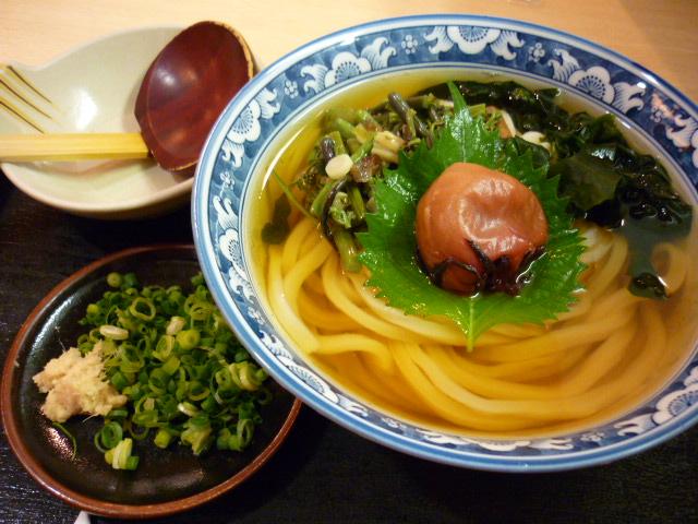 梅しそ山菜