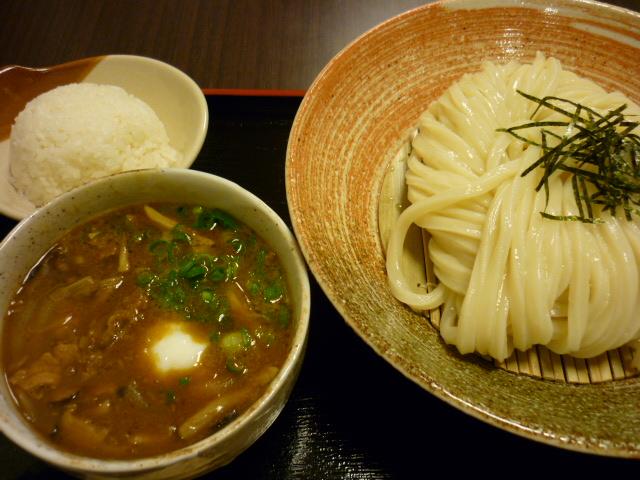 森のキノコのカレーつけ麺
