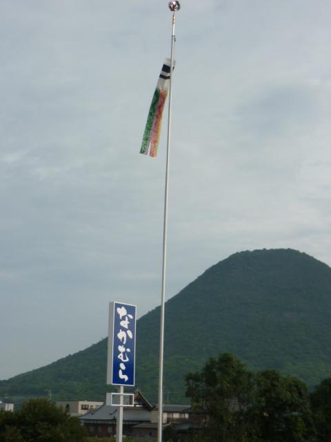 ふきながしと飯野山