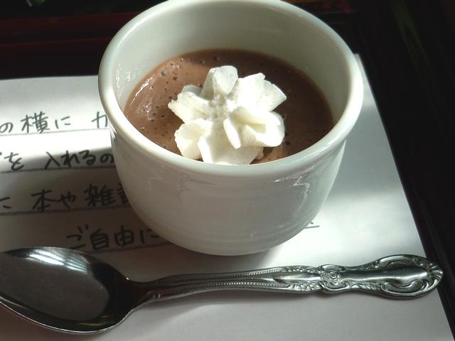 小さなチョコレートのババロア