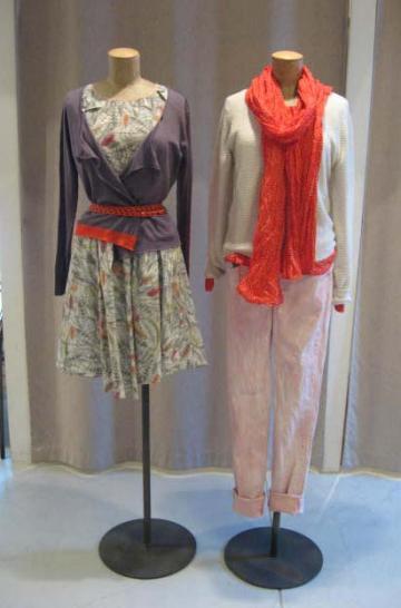 桜色パンツ