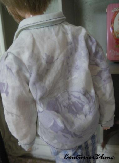 紫バラのシャツ・2