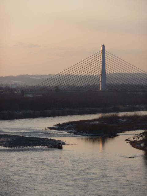 028橋の水鏡
