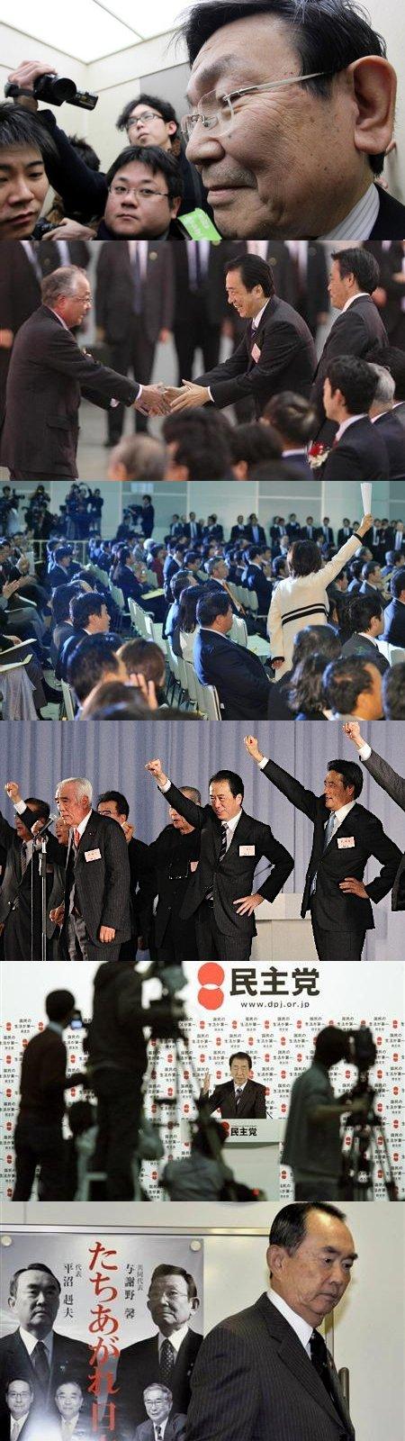 与謝野入閣と政策軸の対立_z