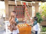 2010年初詣(翠姫&手毬姫)