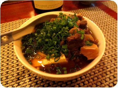 牛スジ煮込み豆腐